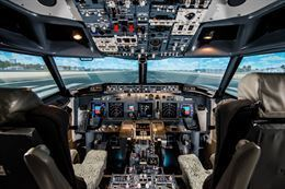Picture of Boeing 737 Flight Simulator - 1 hour