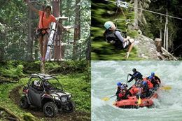 Whistler Treetop Adventure, White Water Rafting, Ziplining, and Off Road UTV tours