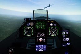 Picture of Virtual Reality Fighter Jet Experience FOR TWO - 60 MINUTES