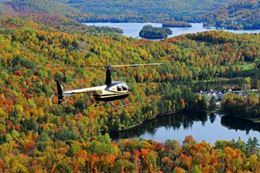 Romantic Mont-Tremblant Helicopter Flight With Dinner