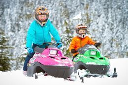 Picture of Family Snowmobile Tour - FRESH TRACKS TOUR - PASSENGER