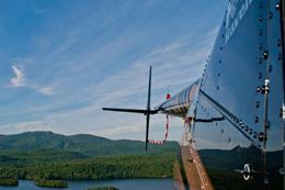 Picture of Mont-Tremblant Helicopter Flight With A Mountain Top Stop