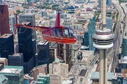 7-minute helicopter flight over Toronto, Breakaway Experiences