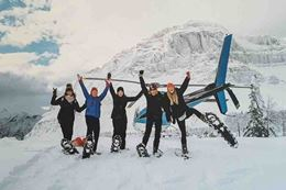 Rocky Mountains Helicopter Tour Snowshoe, Breakaway Experiences