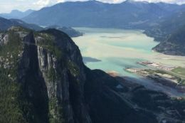 Fly over the Coast Mountains and BC Backcountry. Sea to Sky Scenic Flight.
