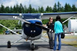 Discover the beauty of British Columbia's Coast Mountains on a sightseeing flight tour from Squamish