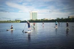 Lac Leamy & Rideau Falls Stand Up Paddle Tour, Ottawa Gatineau SUP