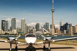 Scenic Flight Over Toronto & CN Tower with Champagne, Fun things to do in Toronto