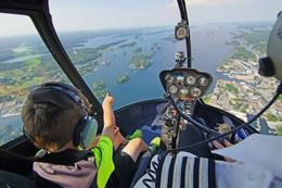 Kingston sightseeing tour – 1000 Islands helicopter tour