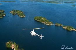 1000 Islands Helicopter Tour  Gananoque Kingston