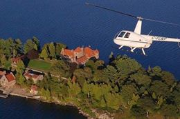 Tour the 1000 Islands Gananoque, Ontario by helicopter