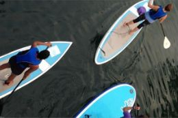 Stand Up Paddleboarding Lesson, Toronto Islands