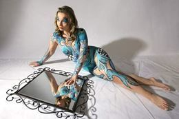 Body Painting plus Boudoir Photo Experience, Calgary