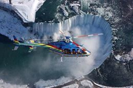 Ultimate Niagara Falls Tour plus Skylon Tower Lunch and Helicopter Ride