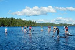 Picture of SUP Private Fitness or Yoga Session - for 4 people