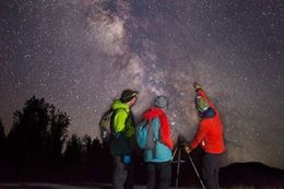 Kananaskis Winter Stargazing Guided  Snowshoe Tour