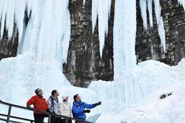 Picture of Johnston Canyon Icewalk, Banff