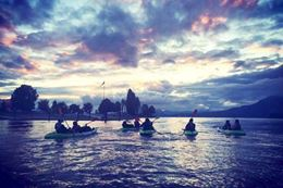 A unique Vancouver tour where your kayak's LED lights illuminate the water
