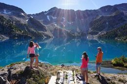 Picture of Whistler Private Alpine Picnic Helicopter Tour - Stand Up Paddleboard