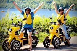 Discover Mont-Tremblant's treasures with the E-Scooter Exploration Adventure, a self-guided scavenger hunt game.
