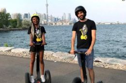 Tour of Toronto's Ontario Place by Segway
