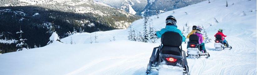 Picture for category Snowmobile Tours