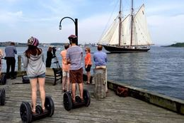 A tour of Halifax sites by Segway