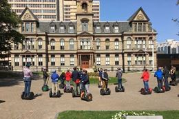 Guided Halifax Sightseeing Tour by Segway at Night