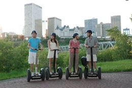 See Edmonton's top attractions on the Edmonton Segway Tour