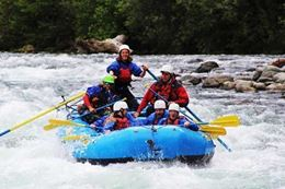 Get ready for white water rafting 2 days of fun Thompson River Fantasy Island Rafting Getaway, BC
