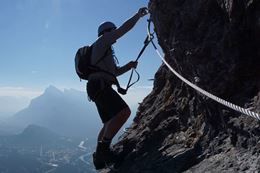 Picture of Banff Via Ferrata - Ridgewalker Route  (4 hours)