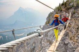 Picture of Banff Via Ferrata Tour