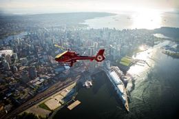 Picture of Private Helicopter Tour Over Vancouver - Downtown Harbour departure - for up 4