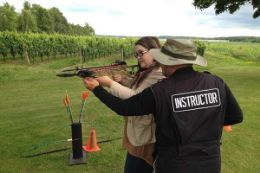 Learn to fire a crossbow , Niagara region