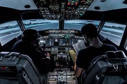 Learn to fly a Boeing 737 Jet and take off down the runway - Calgary Flight Simulator Experience