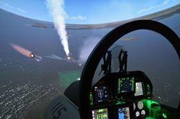 Picture of F-18 Super Hornet Flight Simulator - 2 PERSONS - 30 minutes