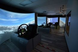Fly an F-18 Fighter Jet in a simulator, Calgary