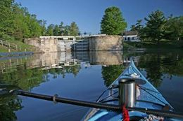 Rideau Canal Cycling, Paddling and Picnicking Day Cruise experience gift for family and friends near Kingston.