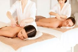 Couples Body wraps and hot stone massages at Edmonton day spa