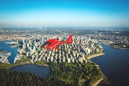 See Vancouver from the air with a helicopter tour.