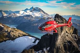 Whistler Blackcomb helicopter tour.