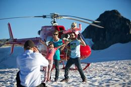 Experience the Ipsoot Icefield north of Whistler on the Whistler Helicopter Tour