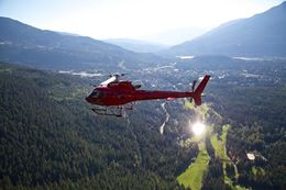See glaciers, crevasses, alpine lakes and a summer waterfall on the Whistler Helicopter Tour.
