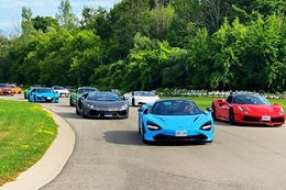 Exotic Car,  Supercar Driving, Hypercar driving experience at Canadian Tire Motorsports Park.