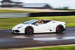 Drive a Lamborghini around the race track at Canadian Tire Motorsports Park.