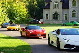 Take a Lamborghini, Ferrari or McLaren for a test drive around Hamilton, Ontario countryside