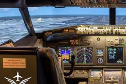 Learn to fly a Boeing 737 Jet and take off down the runway - Montreal Flight Simulator Experience