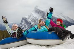 Snow Tubing experience gift at Banff's Mt. Norquay