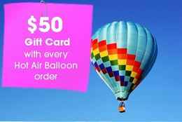 The magic of flying over Ottawa in a hot air balloon. A high-flying experience gift for any gifting occasion.