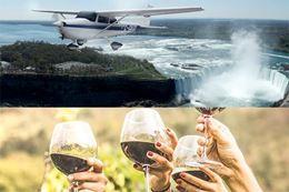 Niagara Falls Wine Tour with Sightseeing Tour Flight from Toronto